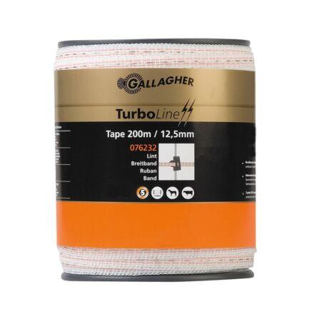 Gallagher Turbo Line Tape White 200m