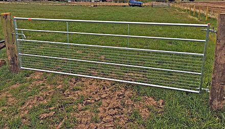 Ritchie Half-Mesh Gate