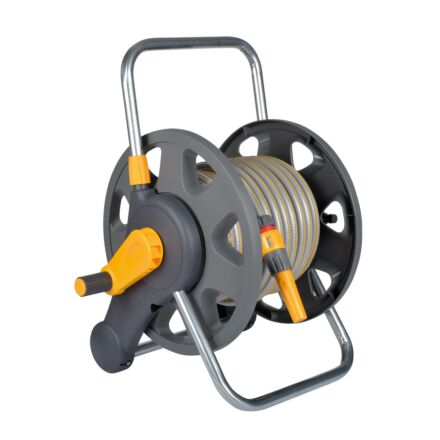 Hozelock Assembled 2-in-1 Hose Reel with hose