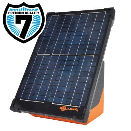 Gallagher S200 solar energiser + FREE Earth Stake