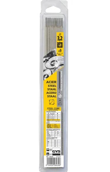 GYS Rutile Welding Rod 3.2x350mm 9x