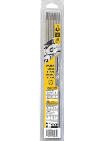 GYS Rutile Welding Rod 4.0x350mm x8