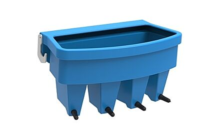 JFC 4 Compartment Feeder Easyflow Teats