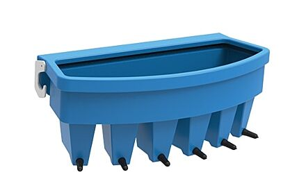 JFC 6 Teat compartment Feeder with Easyflow Teats