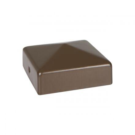 DuraPost® Cap with Bracket - Nut Brown