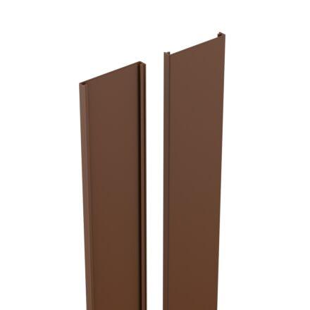 Durapost Cover Strip Brown 2.1m