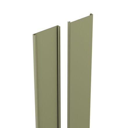 Durapost Cover Strip Olive 2.1m