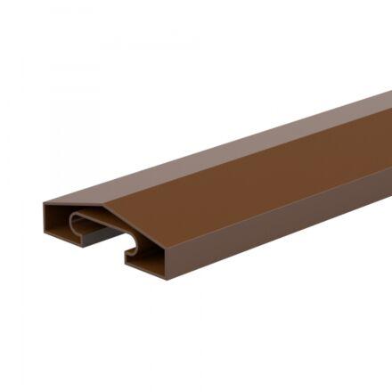 DuraPost® Capping Rail 1.8m - Sepia Brown