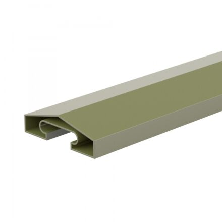 DuraPost® Capping Rail 1.8m - Olive Grey