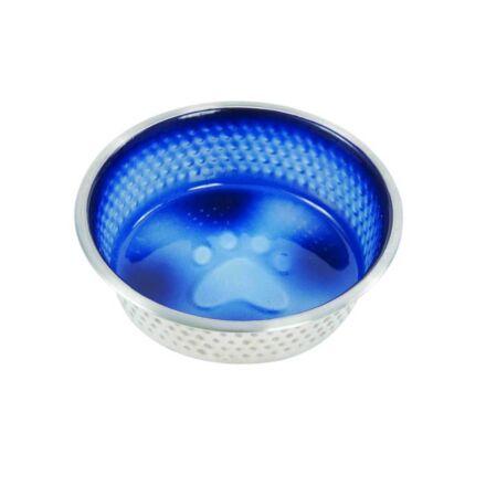 Weatherbeeta Stainless Steel Shade Dog Bowl Royal Blue 23cm