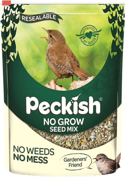Peckish No Grow Seed Mix 1.7 Kg
