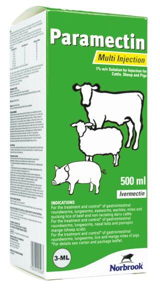 Paramectin Multi Injection 500ml