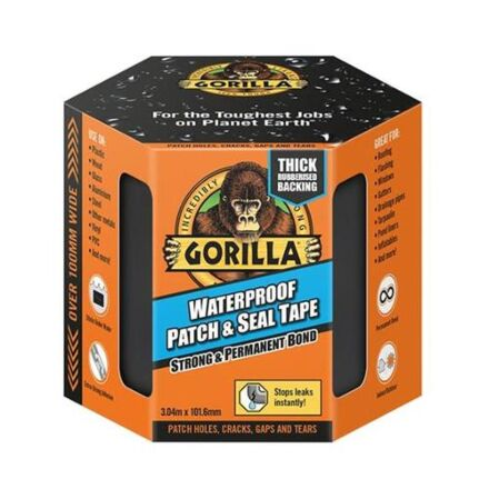 Gorilla Waterproof Patch & Seal Tape 3m x 100mm