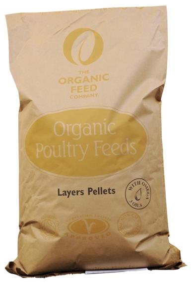A&P Organic Layers Pellets 20kg