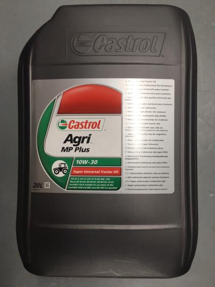 Castrol Agri MP Plus Oil 10W / 30 20 litre