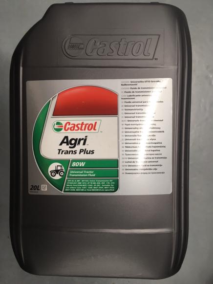 Castrol Agri Trans Plus 80W 20L