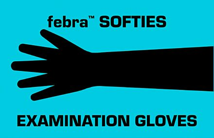 Febra Softies Examination Glove 100pk