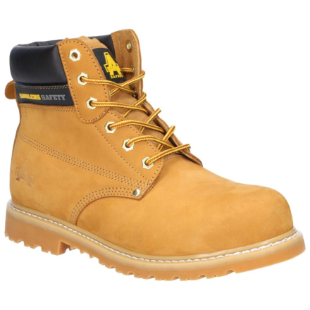 Amblers FS7 Goodyear Welted Safety Boot Honey DFS