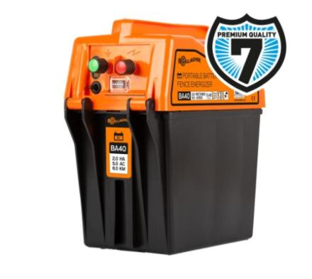 Gallagher BA40 battery fence energiser (9V/12V)