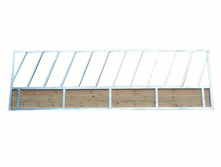 Bateman Feed Barrier with Timber Skirt 15'
