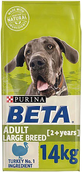 Purina Beta Adult Large Breed Turkey 14KG