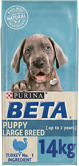 Purina Beta Puppy Large Breed Turkey 14KG