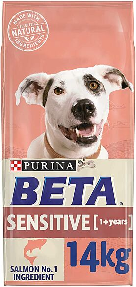 Purina Beta Adult Sensitive Salmon & Rice 14KG