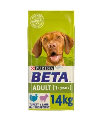 Purina Beta Adult Lamb & Turkey 14KG