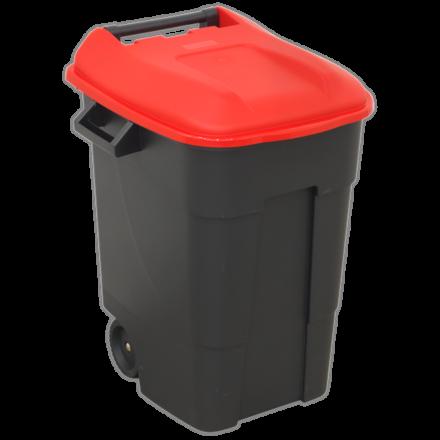 Sealey 100L Refuse/Wheelie Bin - Red