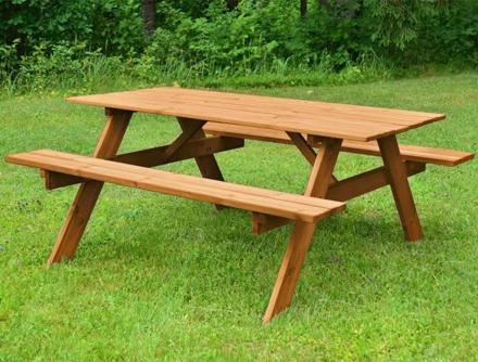 EKJU Picnic Table Brown