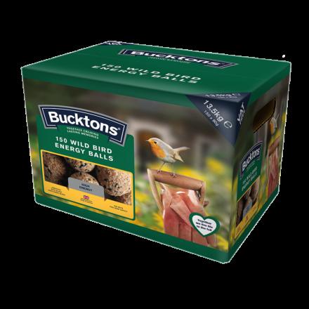 Bucktons Wild Bird Energy Balls 150 Pack