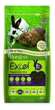Burgess Excel Rabbit Food 4KG