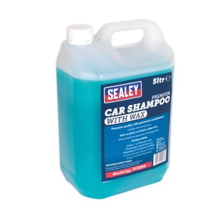Sealey Car Shampoo Premium with Wax 5ltr
