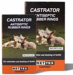 Nettex Castration Rings 100 pack