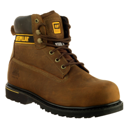 Caterpillar Holton Lace Up Boot Brown DFS