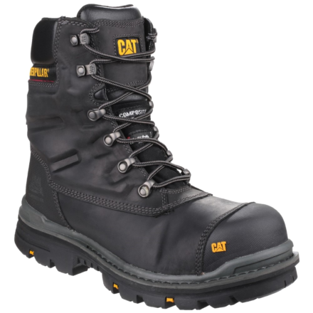 Caterpillar Premier Waterproof Safety Boot Black DFS