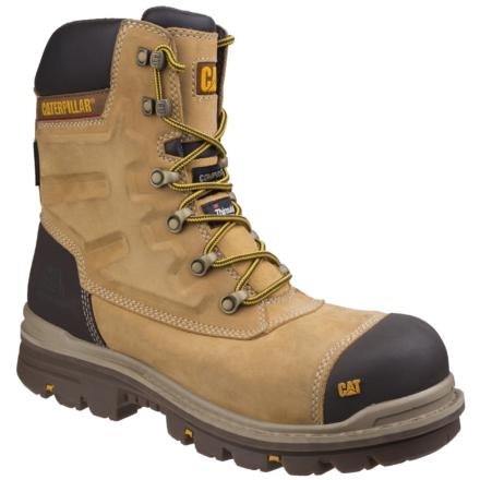 Caterpillar Premier Waterproof Safety Boot Honey DFS