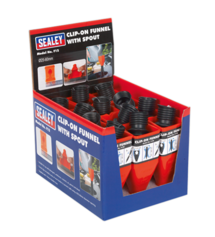 Sealey Clip-On Funnel with Spout