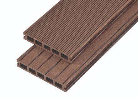 4M COMPOSITE DECK BOARD 150X25 COFFEE