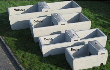 Page Concrete Double Trough 80 Gal