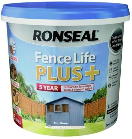 Ronseal Fence life plus Cornflower 5L