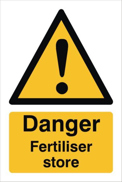 Raymac Danger Fertiliser Store