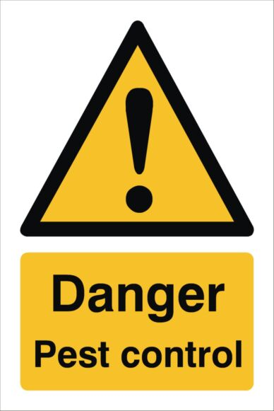Raymac Pest Control Sign