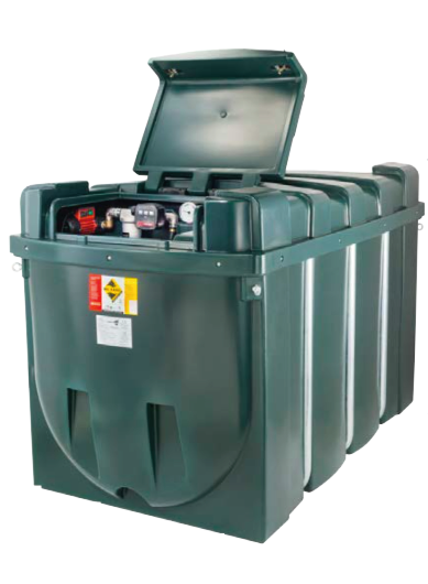 Deso Bunded Diesel Dispensing Tank H2500CDD