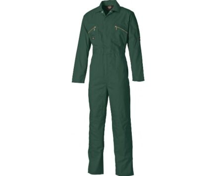 Dickies Overall Boilersuit Zip Front Lincoln Green