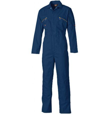 Dickies Overall Boilersuit Zip Front Navy