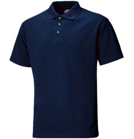 Dickies Short Sleeve Polo Shirt Navy Blue