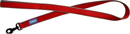 """Hemmo & Co Dog Lead 1"""" Red"""