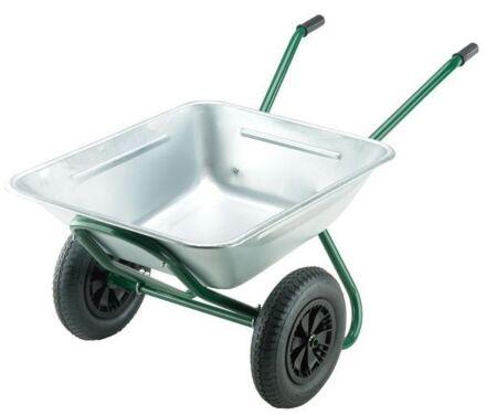 the landscaper wheelbarrow double wheel
