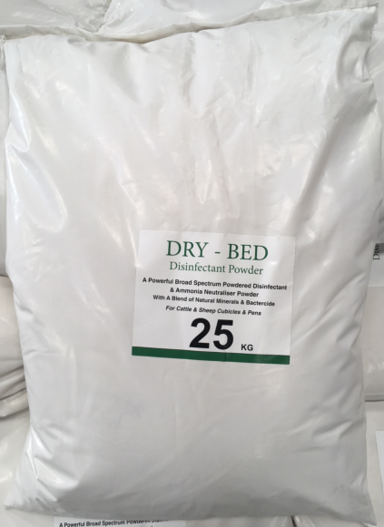 Dry Bed Red 25kg